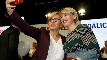 Posłanka Paulina Hennig-Kloska na konwencji Koalicji Obywatelskiej w Poznaniu w 2019 roku.