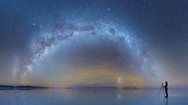 Nocne niebo nad Boliwią