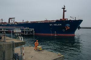 Lotos sprowadził tankowiec z ropą naftową z USA. Pierwszy w historii gdańskiej rafinerii