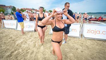 I wyścig pływacki dookoła molo Timex Cup 2015