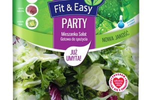 Mieszanki sałat Fit&Easy zmieniają się