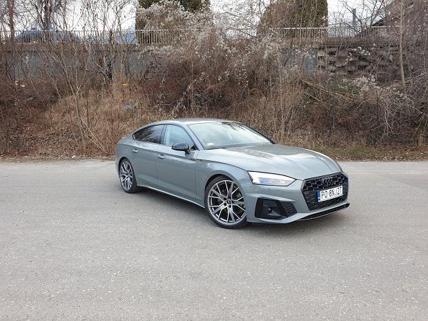 Opinie Moto.pl: Audi A5 Sportback 40 TFSI S tronic. Wstęp do klasy premium
