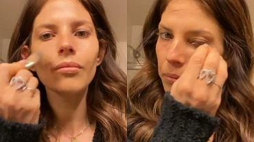 Weronika Rosati szykuje się, żeby oglądać Netflixa