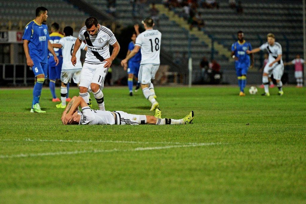 Mecz Legii z FK Kukesi przerwany