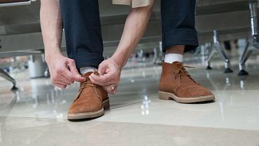 Zamszowe i skórzane buty na jesień