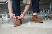 Zamszowe i skórzane buty na jesień, buty, moda męska