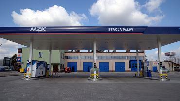 Miejska stacja paliw w Stalowej Woli