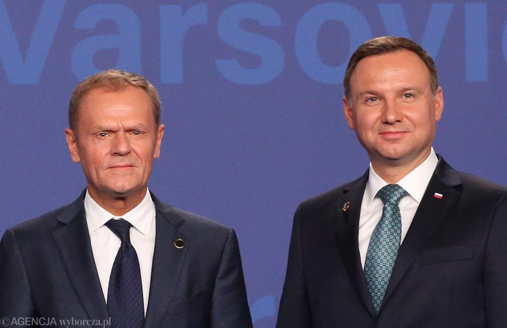 Sondaż prezydencki. Szansę na urząd mają tylko Andrzej Duda i Donald Tusk. Reszta daleko w tyle