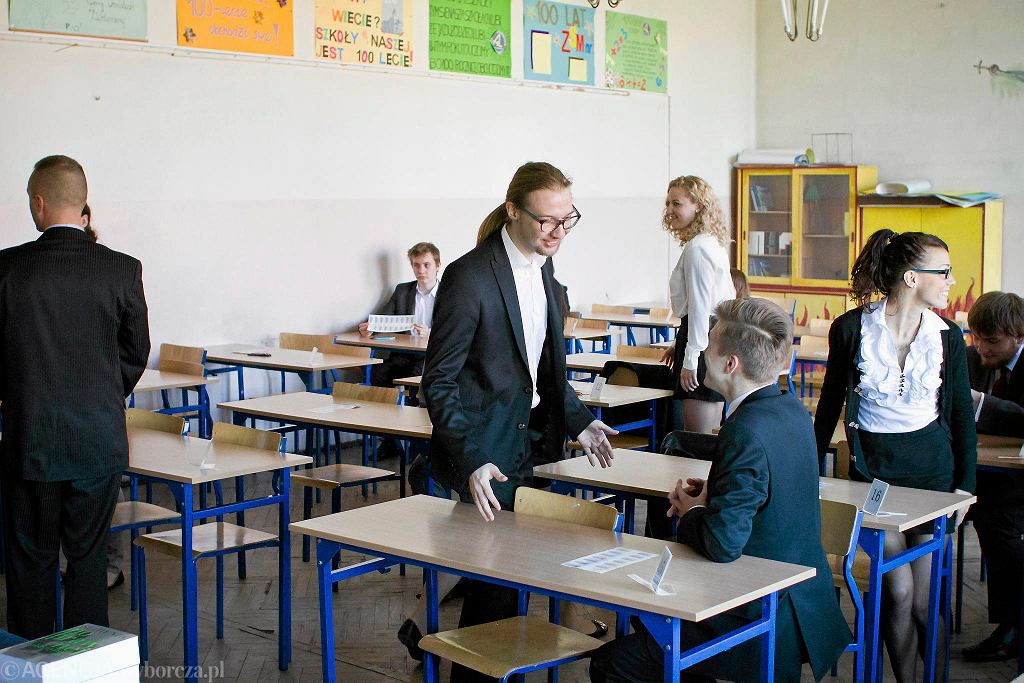Egzamin maturalny w Zespole Szkół Mechanicznych nr 1