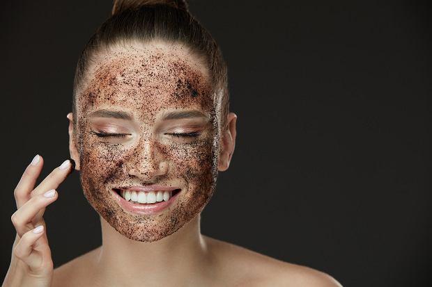 Peeling z kawy do twarzy