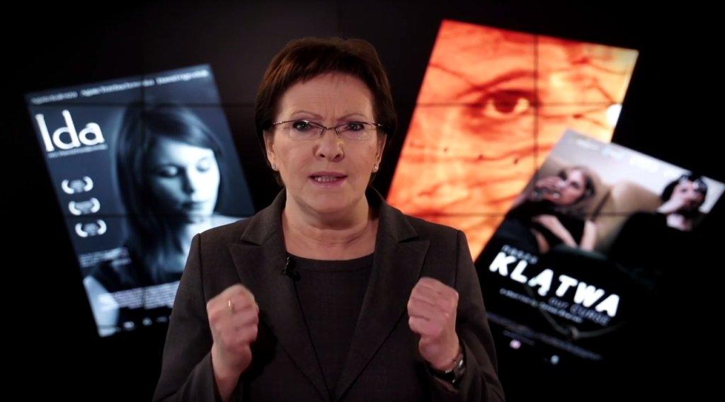 Ewa Kopacz kibicuje polskim filmowcom