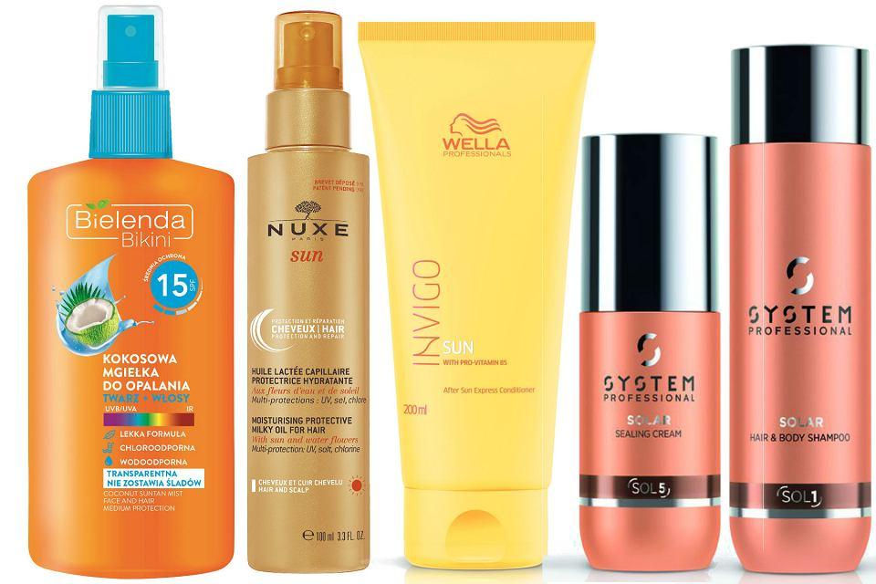 Ochrona przeciwsłoneczna dla włosów