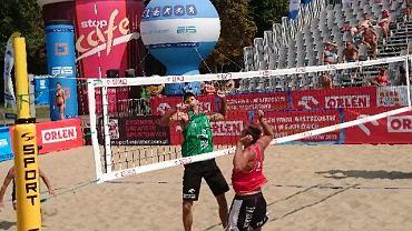 Mistrzostwa Polski w siatkówce plażowej na boiskach Wandy