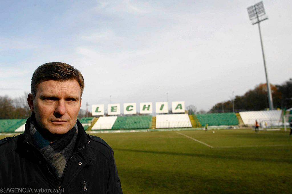 Andrzej Juskowiak - prezes Akademii Piłkarskiej Lechia Gdańsk