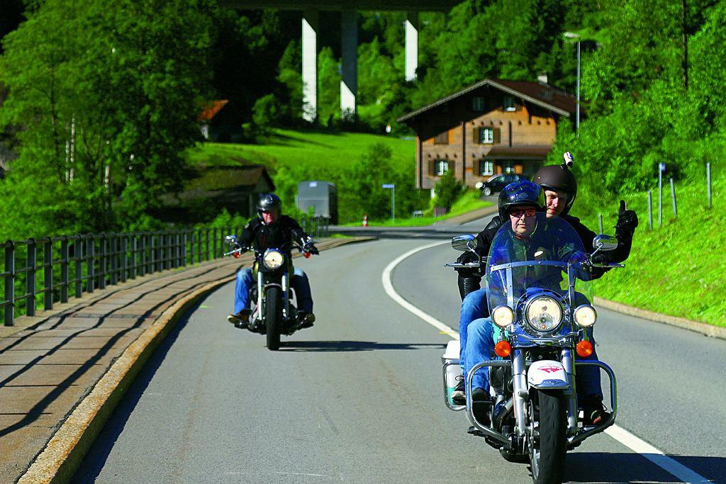 Szwajcaria i Harley-Davidson - połączenie idealne