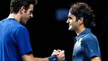 Juan Martin del Potro i Roger Federer