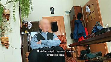 Kadr z filmu 'Tylko nie mów nikomu' Tomasza i Marka Sekielskich