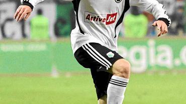 Jakub Kosecki podpisał kontrakt z Legią w 2009 roku - wcześniej jako junior grał m.in. w Nantes, Chicago Fire i Kosie Konstancin