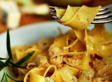 Pappardelle z gorgonzolą i gruszkami - ugotuj