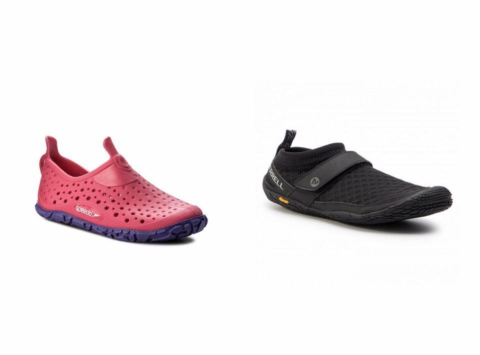 Buty do wody możesz wykorzystać również na kamienistych plażach