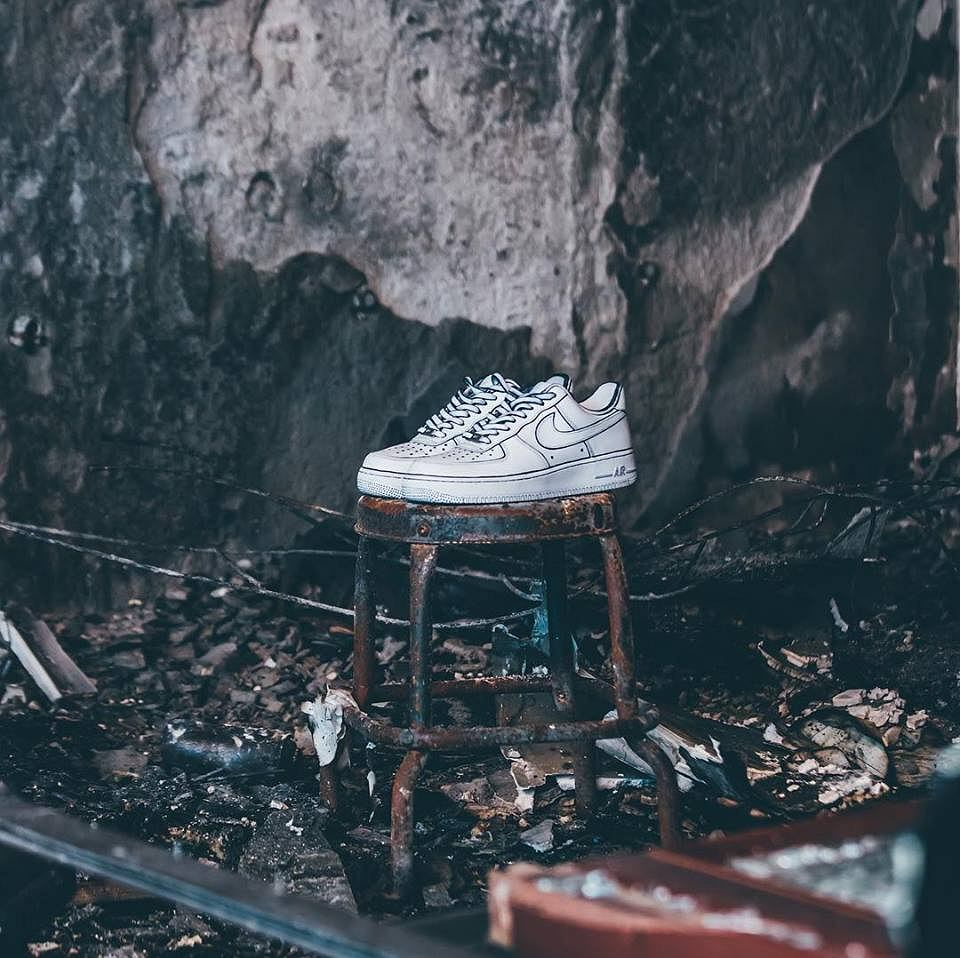 Podpalono sklep Sneaker Boyz