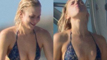 Jennifer Lawrence opalała się na jachcie na Bahamach i nurkowała ubrana w bikini. Jednak ciekawsze niż jej kreacja jest jej zachowanie. Aktorka piła piwo, płukała nim usta i wreszcie spluwała do oceanu.