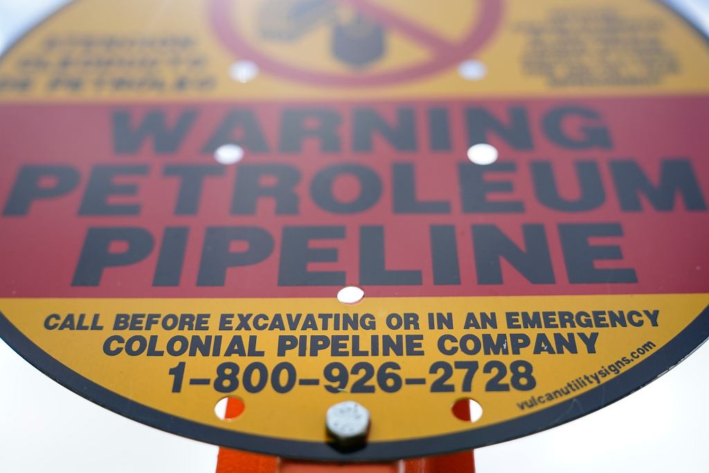 Pipeline Cybersecurity Attack