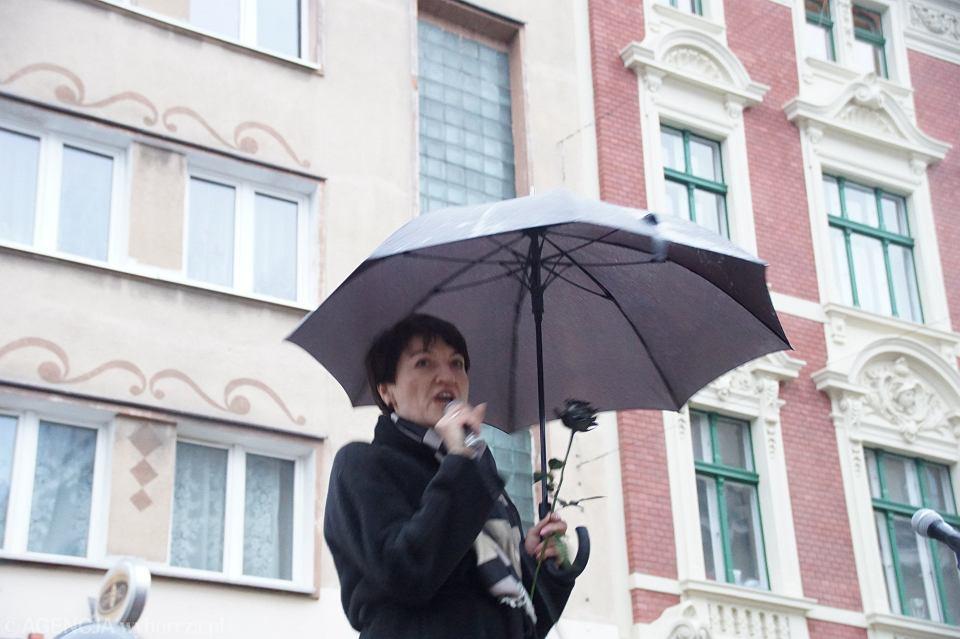 Zdjęcie numer 72 w galerii - Czarny protest w Zielonej Górze: