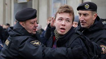 Białoruś. Raman Pratasiewicz zatrzymany w Mińsku