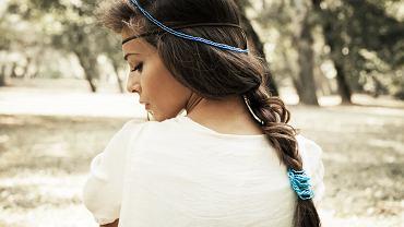 fryzury w stylu boho