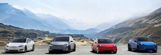 Gama samochodów Tesla