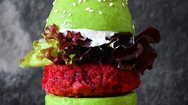 burger z awokado
