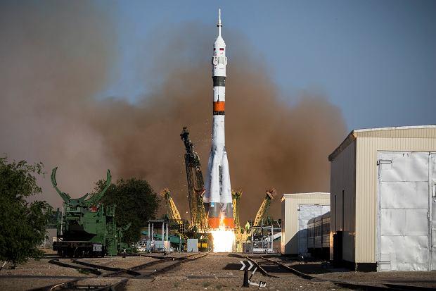 Start rosyjskiej rakiety.