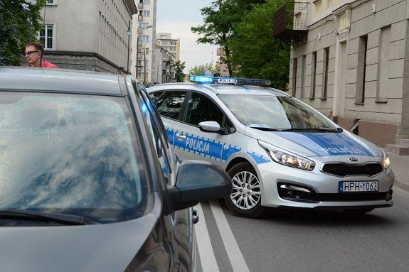 Policja Płock, radiowóz