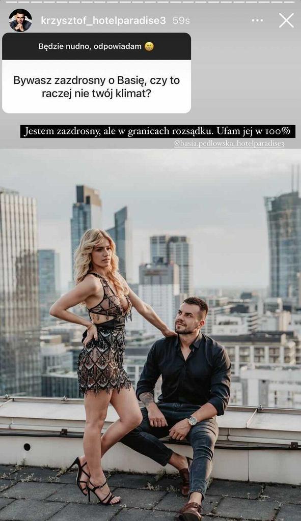 Basia i Krzysztof z 'Hotelu Paradise'