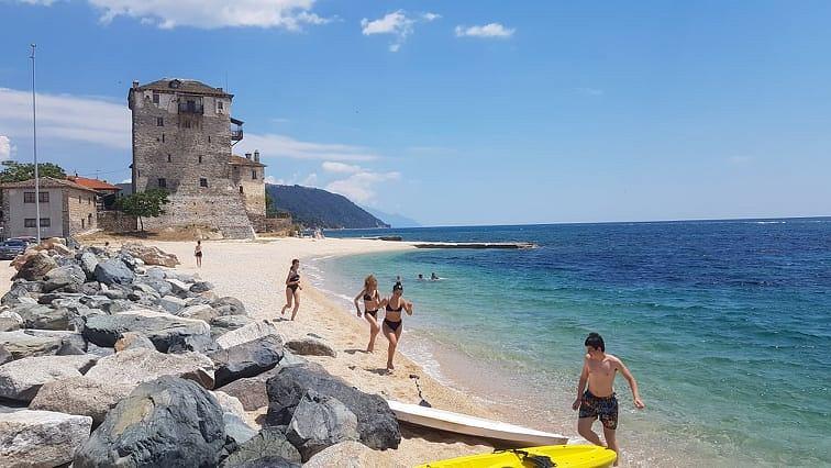 Chalkidiki słynie z pięknych plaż