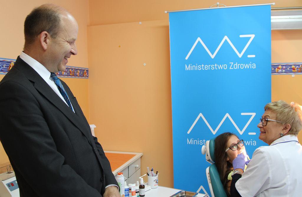 Minister Konstanty Radziwiłł w Boguchwale