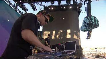 DJ Shadow na festiwalu Coachella