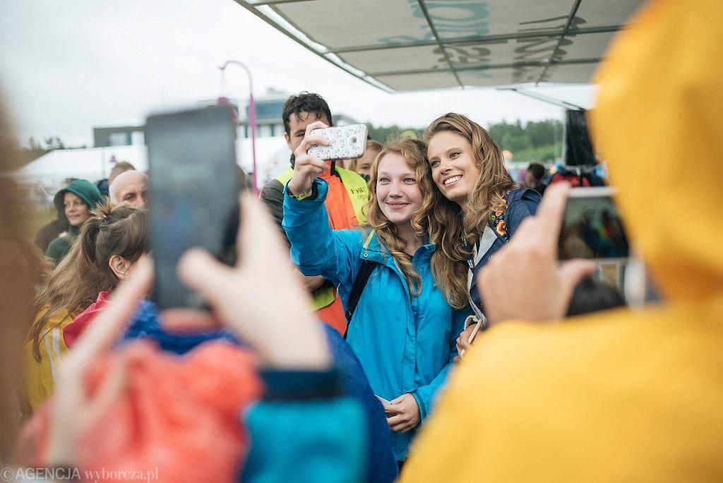 Open'er Festival 2017. Julia Pietrucha w newsroomie CJG24 / BARTOSZ BANKA