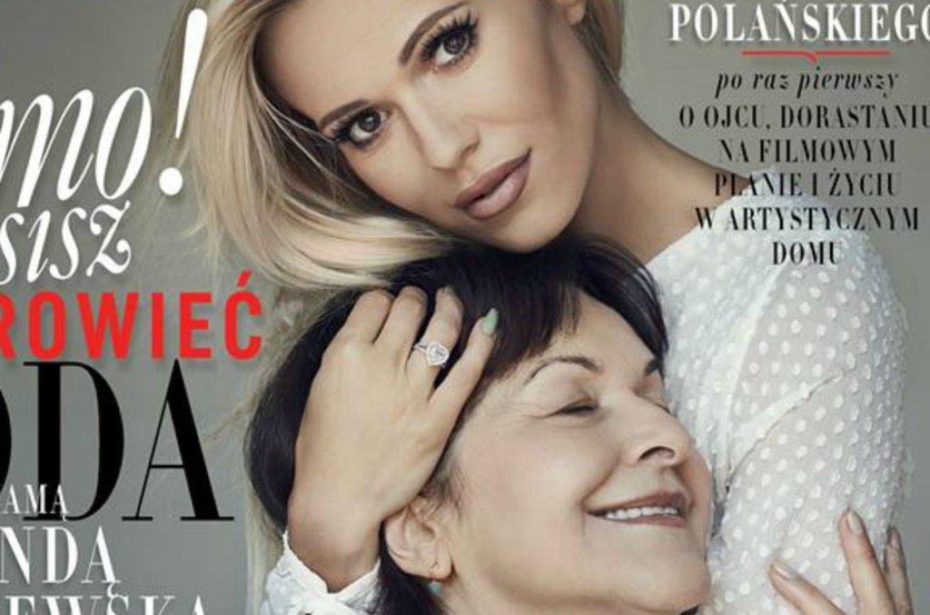 Doda i jej matka Wanda Rabczewska