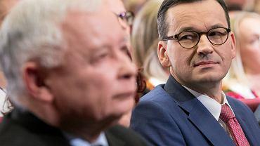 Wybory parlamentarne 2019. Jarosław Kaczyński, Mateusz Morawiecki