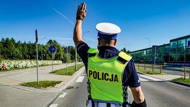 Policja na podlaskich drogach