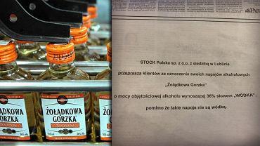 To jedno z najlepszych ogłoszeń, jakie widzieliśmy. Producent wódki przeprasza swoich klientów. Wybaczamy?