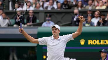 Hubert Hurkacz. Z kim zmierzy się w półfinale Wimbledonu?