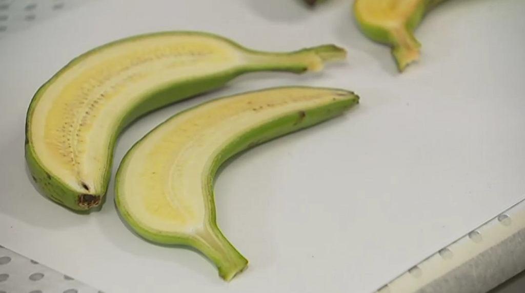 Złote banany bogate w witaminę A