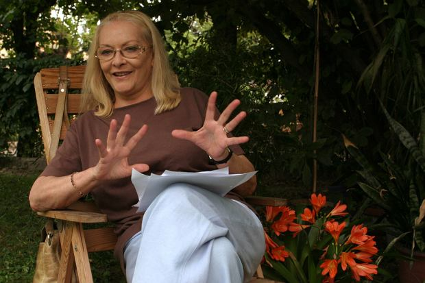 Barbara Brylska w 2005 roku