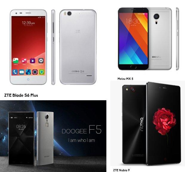 Chińskie smartfony kuszą