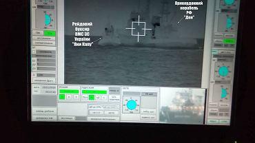 Okręt rosyjskich pograniczników staranował ukraiński wojskowy holownik