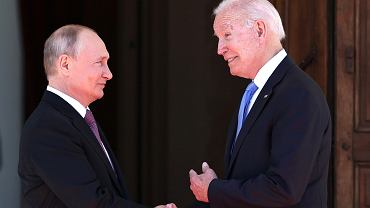 Joe Biden i Władimir Putin