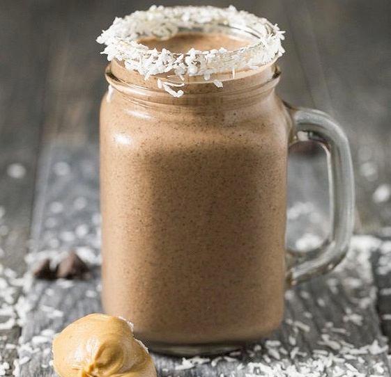 Smoothie czekoladowo kokosowe